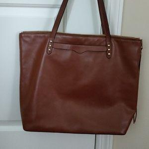 Rebecca minkoff brown leather tote